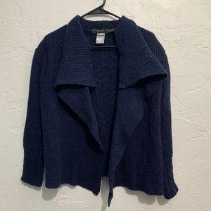 Islander Wool Cashmere Cardigan Sweater